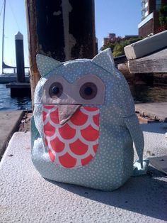 Oliver + S Little Things to Sew: Owl Backpack