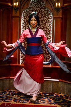 Twirl For Us, Mulan!