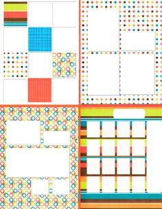 Yearbook Sunshine, this is one happy yearbook template! #photobooks #yearbook #yearbooktemplate #template #layout #viovio