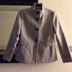 Old Navy petite small jacket Pockets on both sides, buttons on top with a loose bottom. Worn a few times.  Please feel free to ask questions about measurements. Prices are low, so no low-ball offers please. Old Navy Jackets & Coats Pea Coats