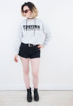Grey Trauma Sweat