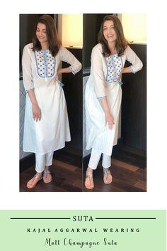 Indian Attire, Indian Wear, Indian Outfits, Casual Cotton Dress, Casual Dresses, Fashion Dresses, Pakistani Dress Design, Pakistani Dresses, Classy Suits