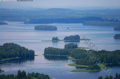 Kuva: Heleä sininen kesäpäivä - Kuopio Savo Kallavesi Järvi-Suomi ...