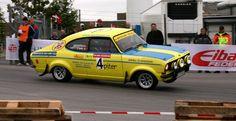 Opel Ascona rally car