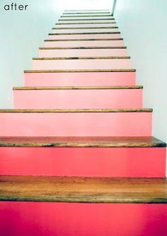 Escalier peint -17 Idées peinture escalier