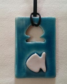 Ceramic pendant /Özlem Menekay