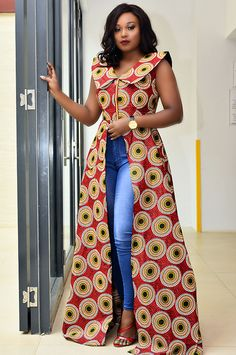 Ankara dress top and jeans: Part 2 | Jessyomwa : digital daily dose of style
