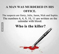 Who's the Killer?