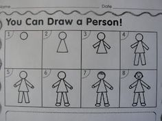 illustration rubric and how to draw a person