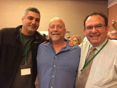 Dr. Armen Mirzayan DDS, Howard Farran DDS & Michael Glass DDS who works with me at Today's Dental, at the Dental Sleep Masters course in Vegas. Armen is a great friend and Townie who started www.CAD-Ray.com which brings guided implant surgery to the masses with NO start up costs.