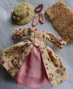 18th C. Outlander in France Outfit for Hitty Dolls by Islecroft