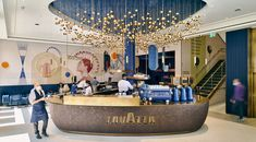 Reception Desk Design, Circular Economy, Coffee Shop, Coffee Market, Croissant, London, Bar, Hospitality, Charlotte