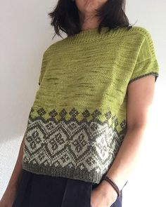 Free Knitting PatternKjole i bomulds rester til lille V 💞 30 Sewing tutorials tips are readily availa Summer Knitting, Fair Isle Knitting, Knitting Yarn, Free Knitting, Ladies Cardigan Knitting Patterns, Knit Patterns, Mittens Pattern, Knitting Designs, Knitting Projects
