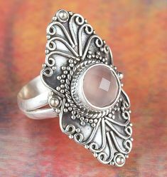 Stylish Rings, Unique Rings, Unique Jewelry, Amethyst Gemstone, Gemstone Rings, 925 Silver, Silver Jewelry, Rock Rings, Mermaid Ring