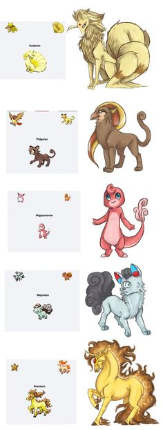 Quick, somebody kill me before I breed! These were just too fun! I took some time randomizing Pokemon, and drew some of the ones I liked. I also created....