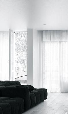 #interior design #white #minimalism - HOUSE concept — Igor Sirotov