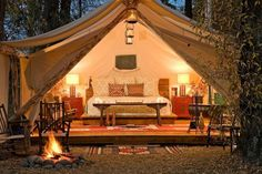 Im in love with the idea of Glamping! Definitely on my bucket list! | The Good Stuff Guide