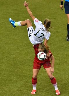Tobin Heath USA vs Germany