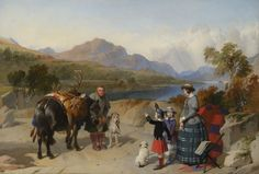 Queen Victoria at Loch Laggan, 1847 by Sir Edwin Landseer Queen Victoria Children, Queen Victoria Family, Queen Victoria Prince Albert, Victoria And Albert, Victoria's Children, Reine Victoria, Royal Collection Trust, Victoria Magazine, King Edward Vii