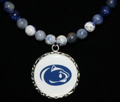 Penn State Joe Paterno Inspired Sad Day In Happy Valley Necklace by LetitBJewelry, $19.99