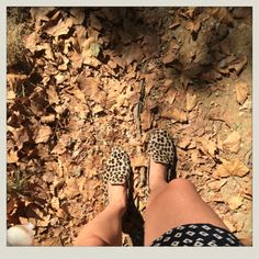 Annematt loafers in leopard pony hair – Bottines