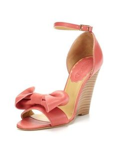 NEW $495 RED Valentino Ankle Strap Bow Leather Sandals Shoes 38 US 8 Bubble #RedValentino #PlatformsWedges