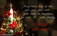 happy new year greeting cards helps you in greeting your loved and dear ones on this