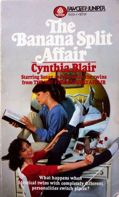 Banana Split Affair/Cynthia Blair YA series from the - Wow, my favorite book during middle school! Teen Book Series, Books For Teens, Teen Books, Young Adult Fiction, Ya Books, Classic Books, Vintage Books, Childhood Memories, Affair