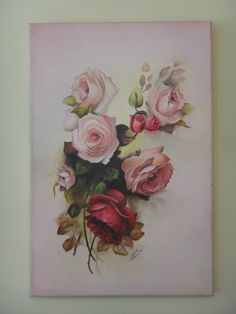 Cuadro - Flores Al Oleo