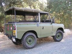 Land Rover 88 Series II A soft top canvas.