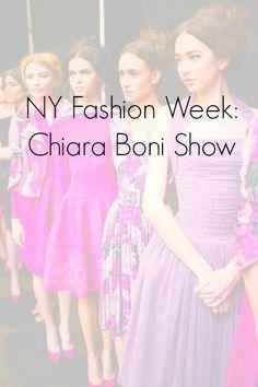 NY Fashion Week: Chiara Boni Show