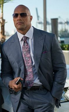 Dwayne Johnson, The Rock The Rock Dwayne Johnson, Rock Johnson, Dwayne The Rock, Gal Gadot, Michelle Rodriguez, Sharp Dressed Man, Well Dressed, Gorgeous Men, Beautiful People