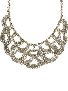 Sorrelli Necklace - Glamorous! in Snow Bunny by Sorrelli - $417.50 (http://www.sorrelli.com/products/NBW10ASSNB)