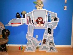 Cool Mom Picks - The only thing cooler than Hoth is this Star Wars book shelf