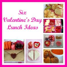 Six Valentine's Day Lunch Ideas