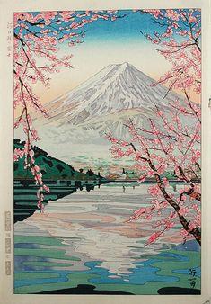 Mt. Fuji by Okada Koichi