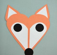 Heart Fox ~ Simple Valentines Day Craft for Kids