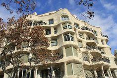 Steinbruchhaus von Antonio Gaudi in Barcelona