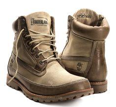 timberland roll top men boots