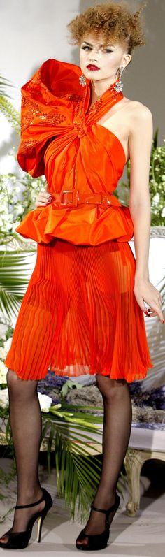 Christian Dior Haute Couture Autumn 2009 | The House of Beccaria#
