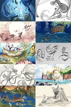 Explore facts, characters, quotes, fan art and more with your favorite Disney movie for one week! Will return for upcoming Disney releases. Disney Concept Art, Disney Fan Art, Disney Love, Disney Magic, Frozen Disney, Cinderella Disney, Punk Disney, Disney Princesses, Disney Sketches