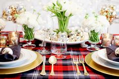 dress the table