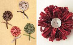 ribbon buttonholes