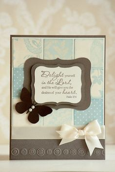 bible handmade verse card - Google Search