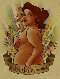Beauty comes in all sizes and shapes - I think I would consider getting this as a tattoo