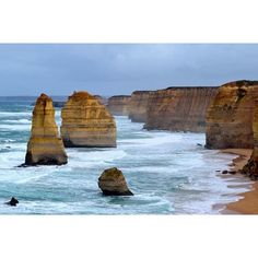 The weather was horrible but the view was stunning! 12 Apostles - Great Ocean Road  #Nikon #photography #nature #naturelovers #nature_perfection #phenomenon #greatoceanroad  #victoria #nationalpark #australia #aussie #roadtrip #igers #igdaily #instagood #nofilter #landscape #backpackerstory #travel #followme #loveit #nikonphotography #backpacking #travel #igtravel #12apostles by pernilleschutt