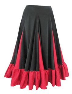 Saia em malha para dança cigana, flamenco, tribal Mais