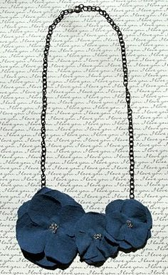 necklace tutorial - LOVE!