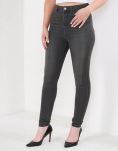 Waven Grey Anika High Rise Jeans | Accent Clothing