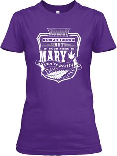 030bcbfd7 Mary Tshirt, Perfect Mary! Women's T-Shirt Front Cool Hoodies, Shirt Hoodies